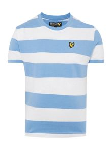Lyle and Scott Boys Block Stripe T-shirt