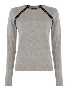 Diesel m-born knitted jumper