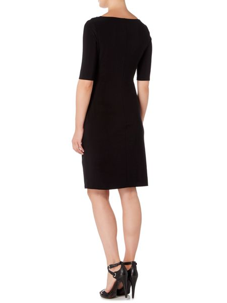 Lauren Ralph Lauren Carleton short sleeve ruched dress