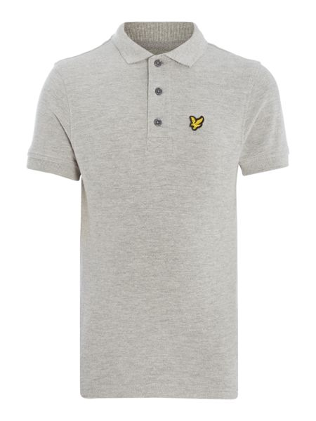 Lyle and Scott Boys Solid Small Logo Polo