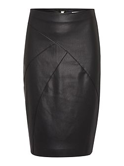 Addison PU pencil skirt