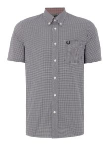 Fred Perry Gingham Classic Fit Short Sleeve Shirt