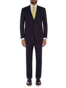 Polo Ralph Lauren Slim Polo 1 Navy Stripe Suit