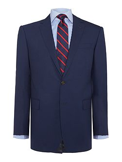 Slim Polo 1 Modern Navy Suit