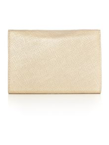 Lauren Ralph Lauren Darlington gold chain clutch bag