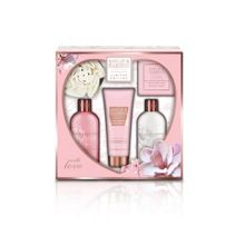 Pink Magnolia & Pear Blossom Five Piece Gift Set