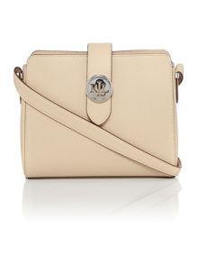 Lauren Ralph Lauren Charleston medium neutral crossbody bag