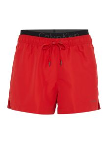 Calvin Klein Swim shorts with double waistband