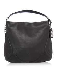 Lauren Ralph Lauren Birchfield black Hobo bag