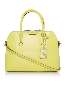Lauren Ralph Lauren Tate yellow dome bag