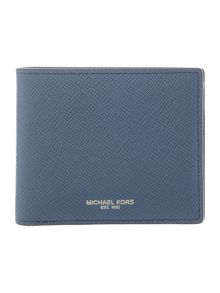 Michael Kors Harrison cross grain coin pocket