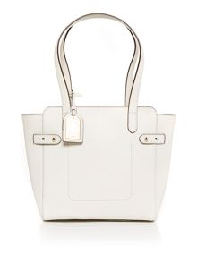Lauren Ralph Lauren Harper medium neutral tote bag
