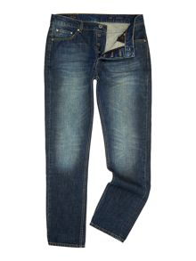 Label Lab Dart Slim Leg Taper Denim Jean