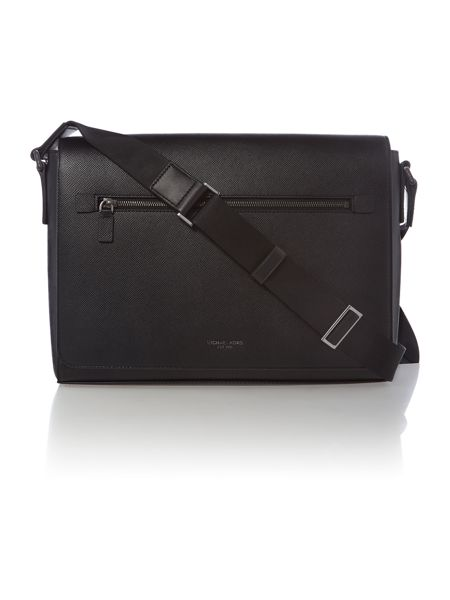 Michael Kors Harrison crossgrain large messenger