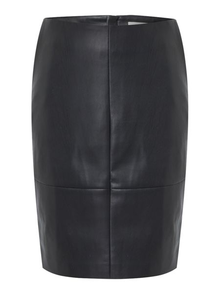 Gray & Willow Skye PU pencil skirt