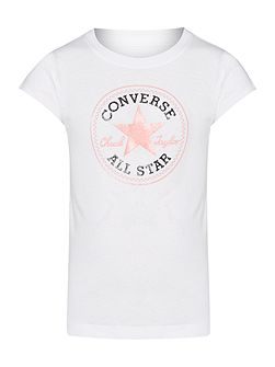 Girls Chuck Patch Logo T-shirt