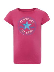 Converse Girls Chuck Patch Logo T-shirt
