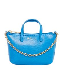 Lauren Ralph Lauren Exclusive Newbury blue mini bag charm