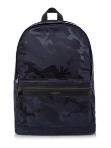 Michael Kors Kent nylon camo backpack