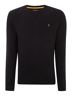 Bernard regular fit loopback crew neck sweat