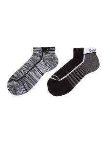 Calvin Klein 2 pack cotton sports liners
