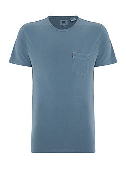 Men's Levi's Regular fit crew neck pocket t