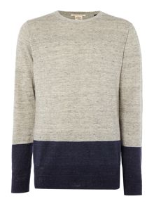 Scotch & Soda Two Tone Jumper