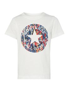 Converse Boys Patterned Chuck Patch Graphic T-shirt