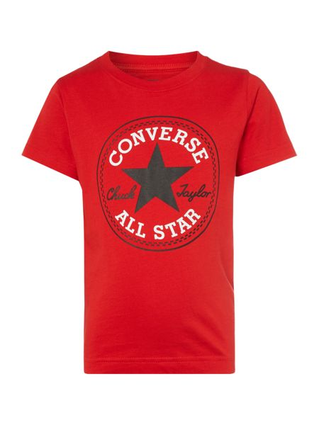 Converse Boys Chuck Patch Logo T-shirt