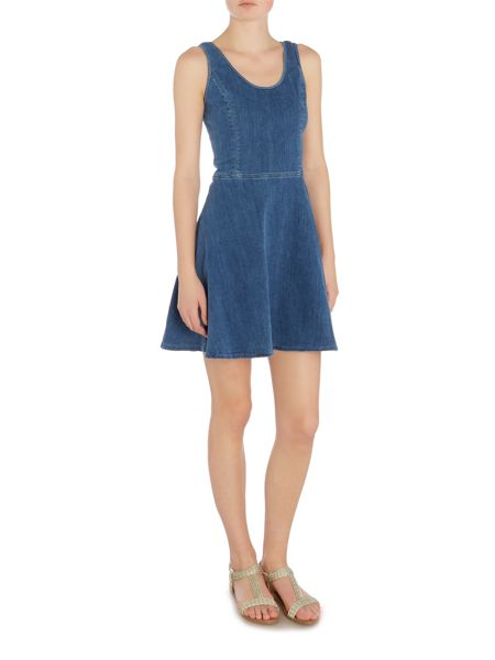 Calvin Klein Sport tank denim dress