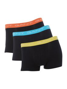 Gant 3 pack trunk with contrast waistband