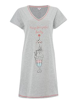 Sundae Ice Cream Sleep Tee