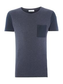 Selected Homme Caspar Open-Neck Tee
