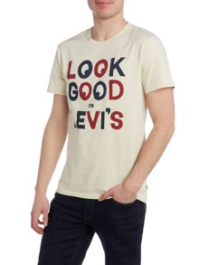 Levi's Regular fit look good printed t shirt