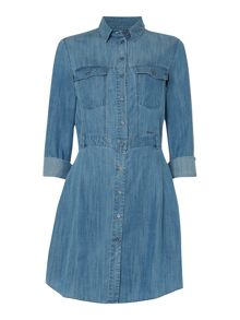 Rivian denim shirt dress