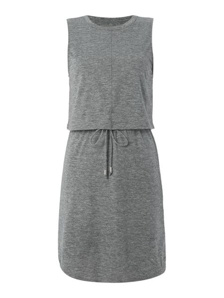 Calvin Klein Sleeveless rhodani drawcord dress