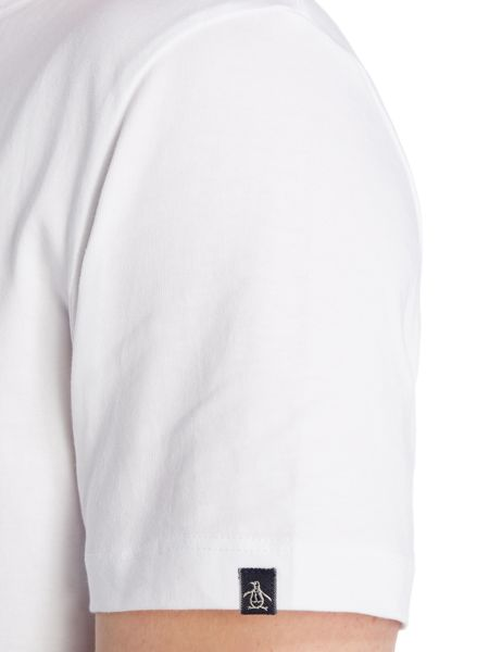 Original Penguin Chest logo short sleeve tee