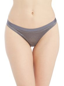 Marie Meili Emely jacquard thong