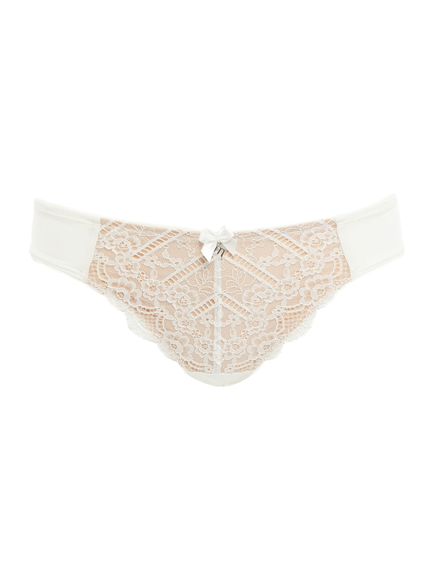 Marie Meili Marie Meili Curves pailey lace brief, Ivory