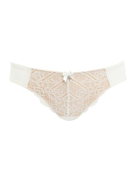 Marie Meili Curves pailey lace brief