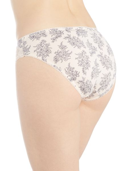 Marie Meili Curves margot floral brief