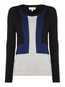 Linea Colourblock jumper