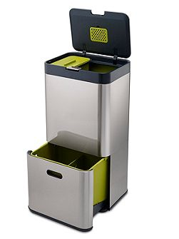 Totem 60 Litre Intelligent Waste Bin Steel