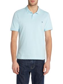 Original Penguin Raised-Rib short sleeve polo shirt