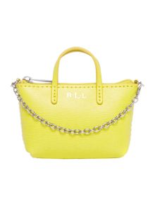 Lauren Ralph Lauren Exclusive Newbury yellow mini bag charm