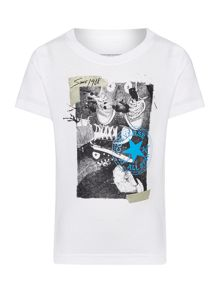 Converse Boys Shoe Selfie Graphic T-shirt