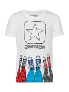 Boys Star Shoe Graphic T-shirt