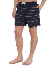 Original Penguin Thin stripe volley swim shorts