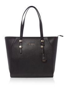 Guess Gigi black tote shoulder bag