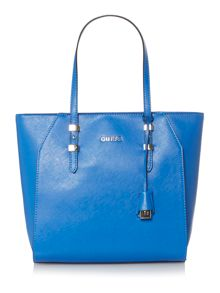 Guess Gigi blue tote shoulder bag